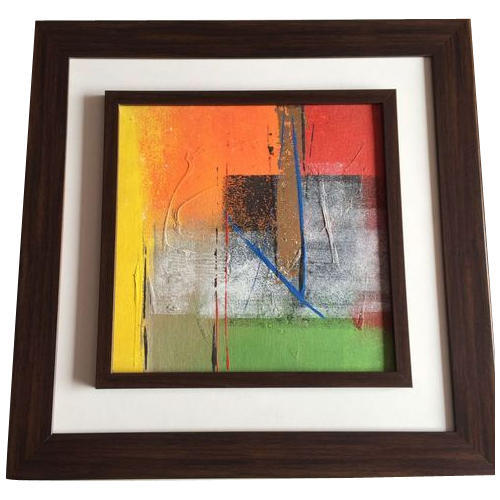 Abstract On Canvas (Double Framing) Painting at Rs 800 /piece ...