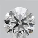 1.35ct Lab Grown Diamond CVD F VVS2 Round Brilliant Cut IGI Certified Stone