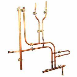 Copper Round Plumbing Pipe