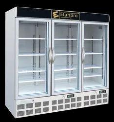 Vertical 3 Door Visi Cooler And Freezer