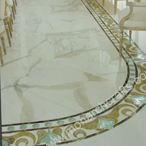 marble flower floor borders tiles thickness 12 14 mm rs 900 rh indiamart com