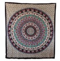 Queen Elephant Mandala Hippies Tapestries