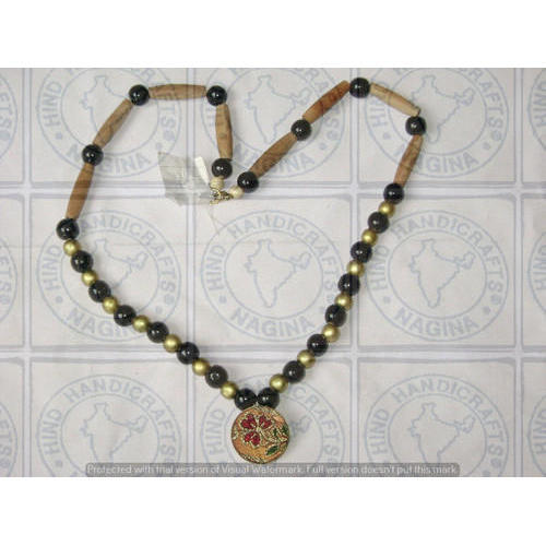 animal giraffe beads elephant full vintage necklace vneckwoodanimals carved tiger wood item wooden