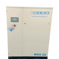 Three Phase Mark MSS 22 Oil Injected Screw Compressor