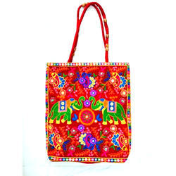 Multy Ladies Embroidered Hand Bag