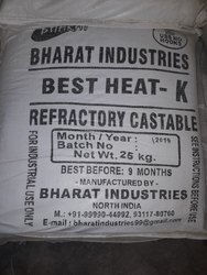Refractory Castables, Grade: K, Packaging Size: 25 kg