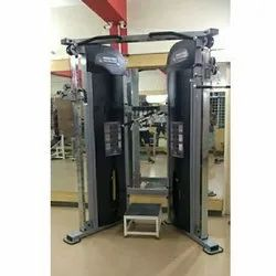 Mild Steel Functional Trainer Machine, for Gym, Number Of Stations: 2
