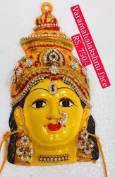 God Varalakshmi Face Golu Doll
