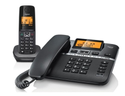 Black Gigaset A730 Corded Cordless Combo Phone (made In Germany), Warranty: 1 Year