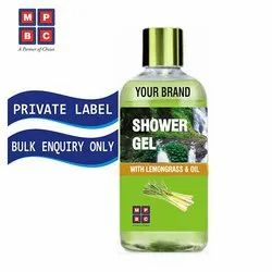 OEM or Private Label Shower Gel with Lemon Grass and Oil