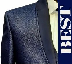 TR Structure Readymade Five Piece Suit, Shawl collar, Size: 34 to 44