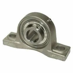 Double Mild Steel Pillow Block Ball Bearing