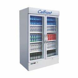 Celfrost Double Door Upright Cooler, Electric, Manual Defrost