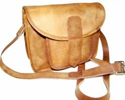 Goat Leather Curve Sling Bag