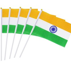 Indian National Hand Flag