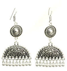 Ladies Silver Earrings