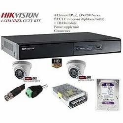 Hikvision Dvr And CCTV Camera