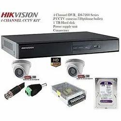 Hikvision Dvr And CCTV Camera