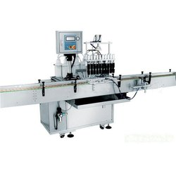 SS316 Sanitizer Liquid Filling Machine, Model Name/Number: Lf, Packaging Type: Bottle