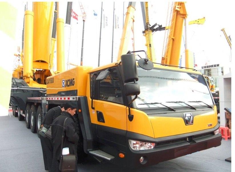 XCMG QAY800 800 ton All-Terrain Crane