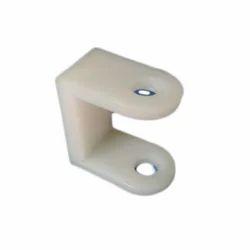 White Plastic Clip