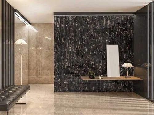 Simero Black Portoro Tile, Size: 800X1600, Simero Vitrified Pvt ...