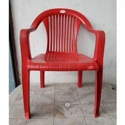 Designer Red Plastic Chair