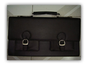 Black Leather Corporate Bags, Pure Leather(y/n): Yes