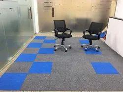 PVC Carpet floor Tiles, For Interior Flooring, Matte