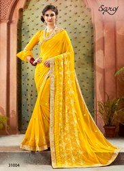 Designer Fancy Party Wear Sarees