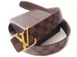 Brown LV Belts