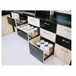 Kohinoor Furniture Wooden Kitchen Trolley
