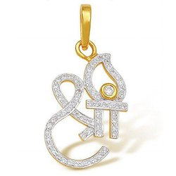 Shri Gold Diamond Pendant