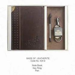 Leatherite Notebook Combo Sets (3 in 1)