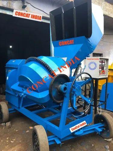 Concrete Mixer Hydraulic Hopper