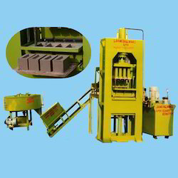 Semi Automatic Fly Ash Brick Making Plant