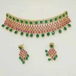 American Diamond Jewellery, Size: Free