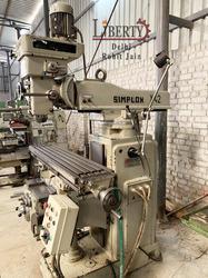 Simplon Vertical Milling Machine