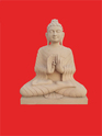 Beautifully Carved Buddha Statue In Stone