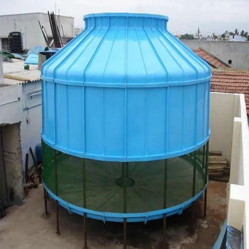 Three Phase IPC INDIA Bottle Type Cooling Tower, Cooling Capacity: 10, Capacity: 10