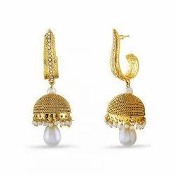 Ladies Fashion Brass Earrings
