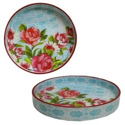 Digitally Printed Round Trays