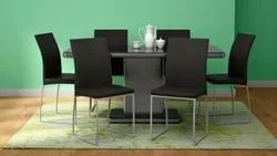 Metal Dinning Chair - Godrej Novice