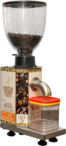 Chennai Beverages 230 V A C New Hot Sale Coffee Bean Grinder Machine