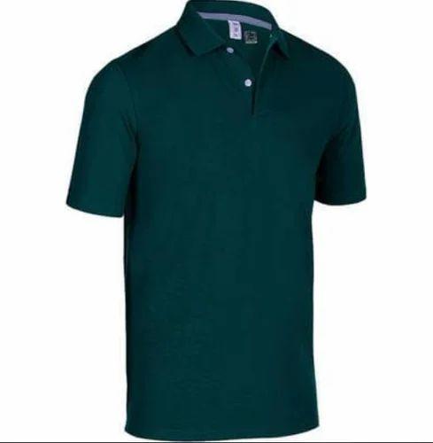 42349961 INESIS Dark Green Mens Golf Polo T-Shirt 500, Rs 399 /piece | ID ...