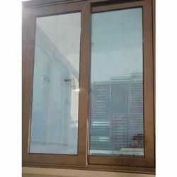 Vertical Dumal Aluminum Window