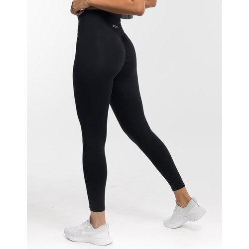 Straight Fit Plain Ladies Cotton Legging
