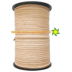 Natural Flat Leather Cord