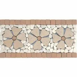 Capstona RWJ 3 Flowers Borders Tiles