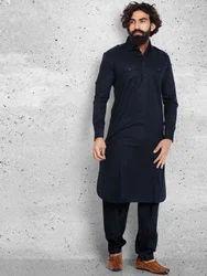 Men Multicolor Pathani Suit